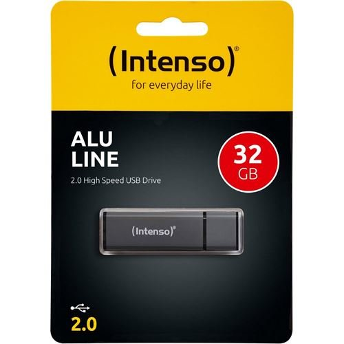 Intenso 32 GB Alu Line antr. USB 2.0