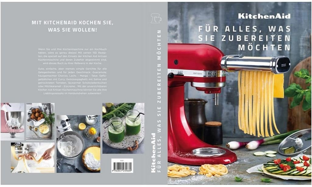 KitchenAid CCCB_DE Kochbuch Culinary Center