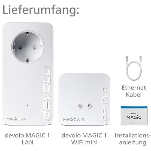 Devolo Magic 1200 WiFi mini Starter Kit